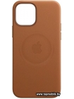 MagSafe Leather Case для iPhone 12 Pro Max