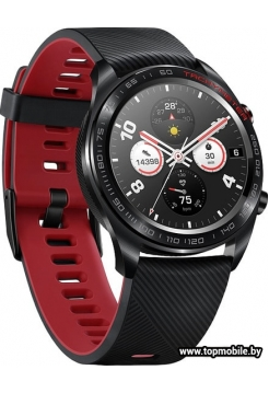 Смарт-часы Honor Watch Magic (stainless steel, silicone strap)